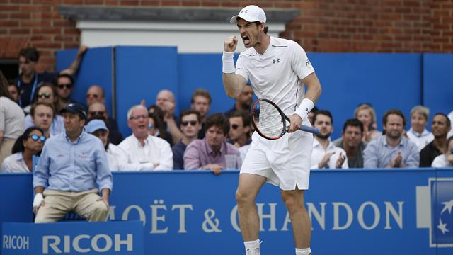 Après sa 5e couronne au Queen's, Murray est bien prêt pour Wimbledon