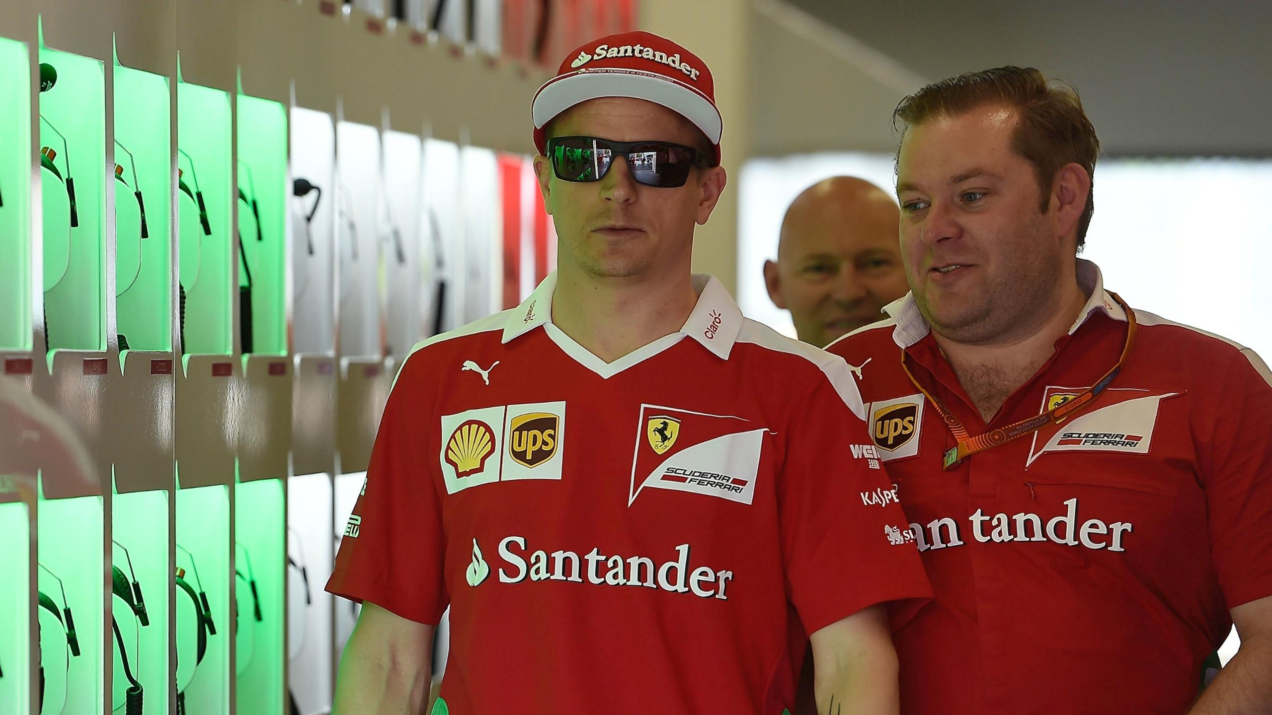 Kimi Räikkönen (Ferrari) au Grand Prix d'Europe 2016