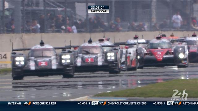Porsche claim dramatic Le Mans win as Toyota fails on final lap
