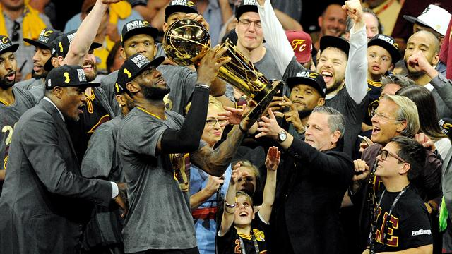 LeBron's Cavaliers stun Curry's Warriors in thriller to clinch NBA title
