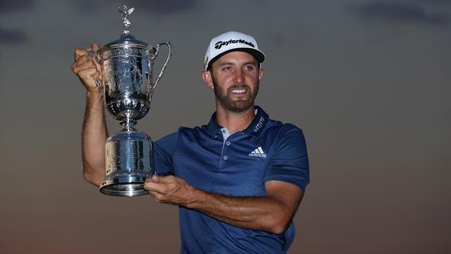 Oakmont triumph lifts Johnson up to third in rankings