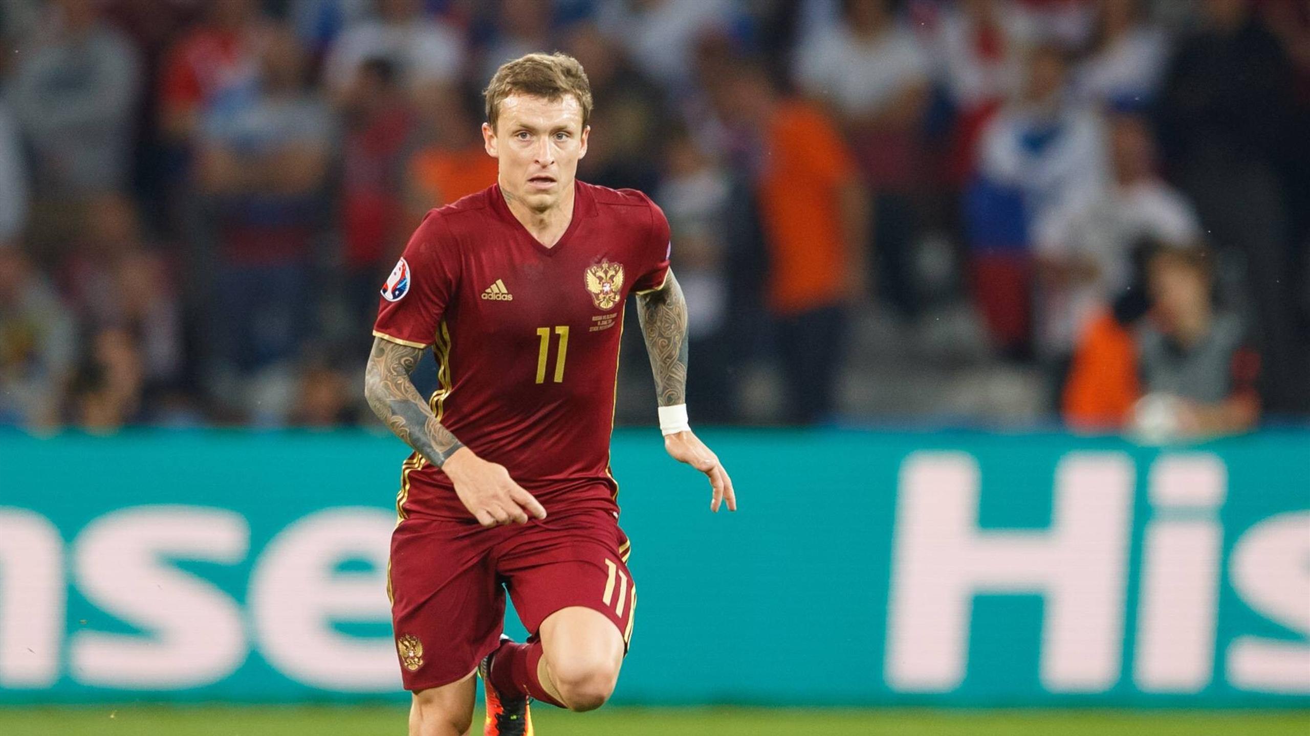 Игрок сборной России Павел Мамаев организует в Подольске футбольный фестиваль