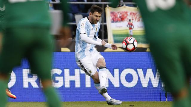 L'Argentine et Messi à l'épreuve du rêve américain