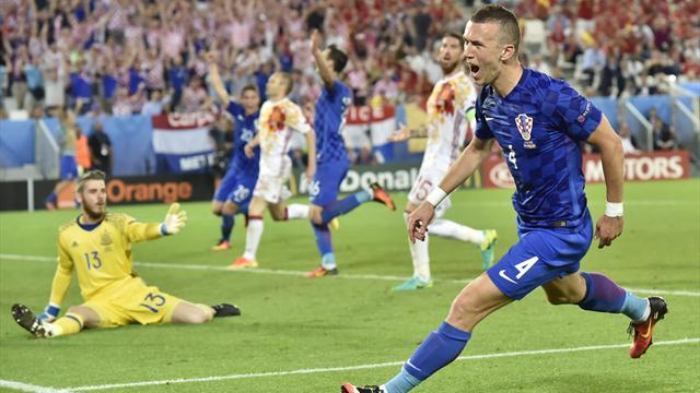 La Croatie crée la sensation, l'Espagne risque de s'en mordre les doigts