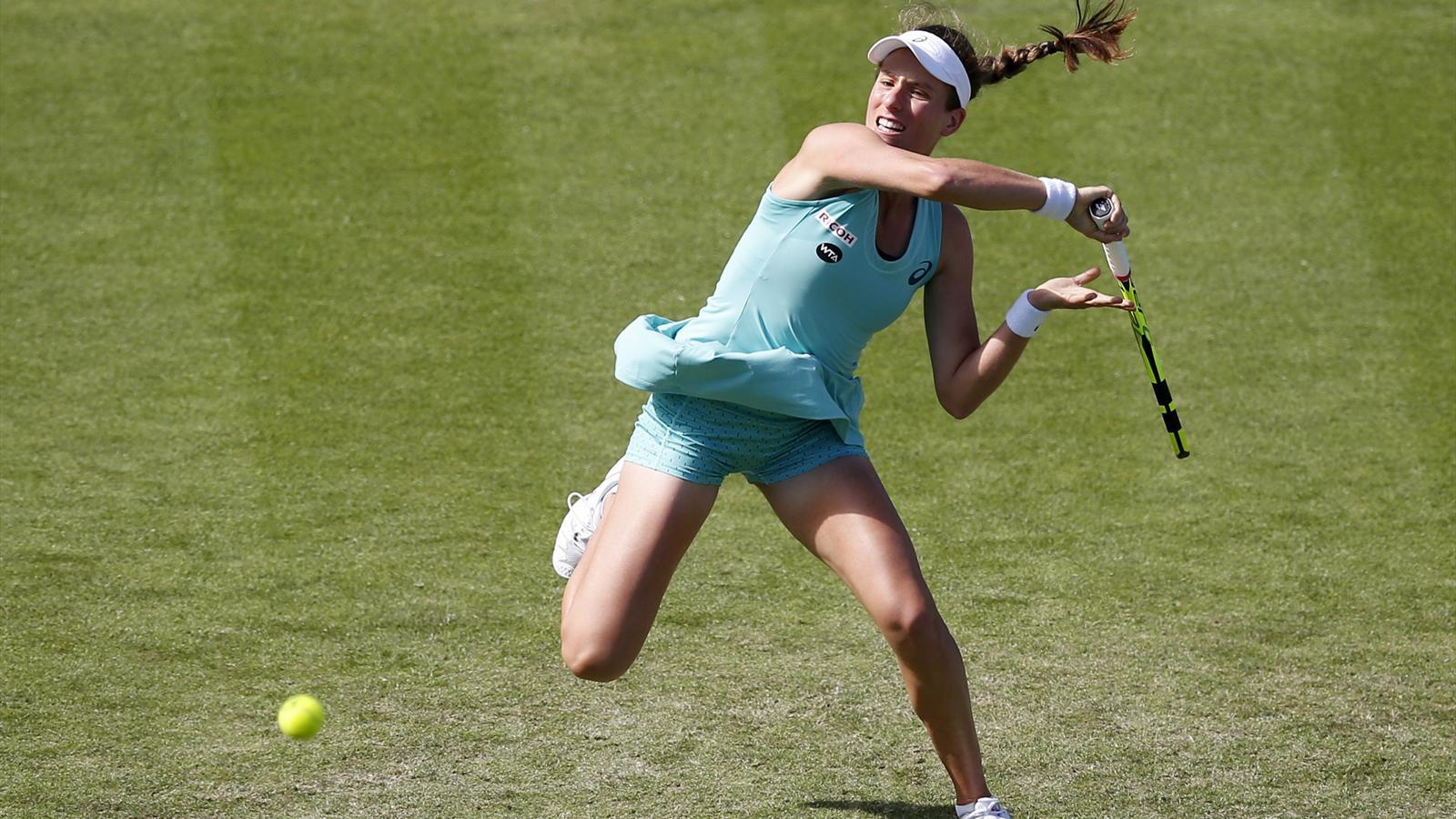 Johanna Konta beats Ekaterina Makarova to make Eastbourne semi-finals - Tennis - Eurosport UK