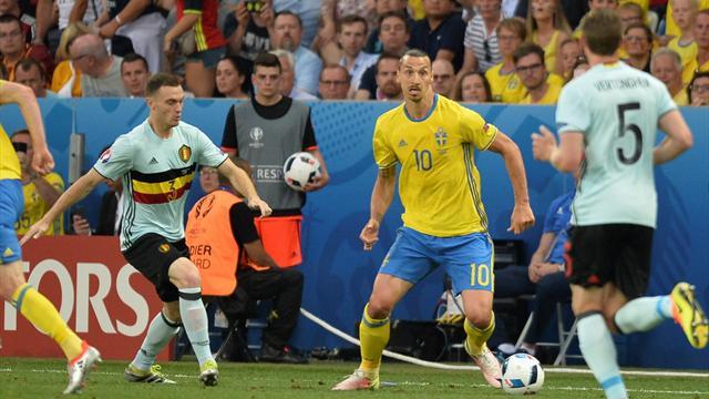 Encore impuissante contre la Belgique, la Suède de Zlatan s'en va déjà