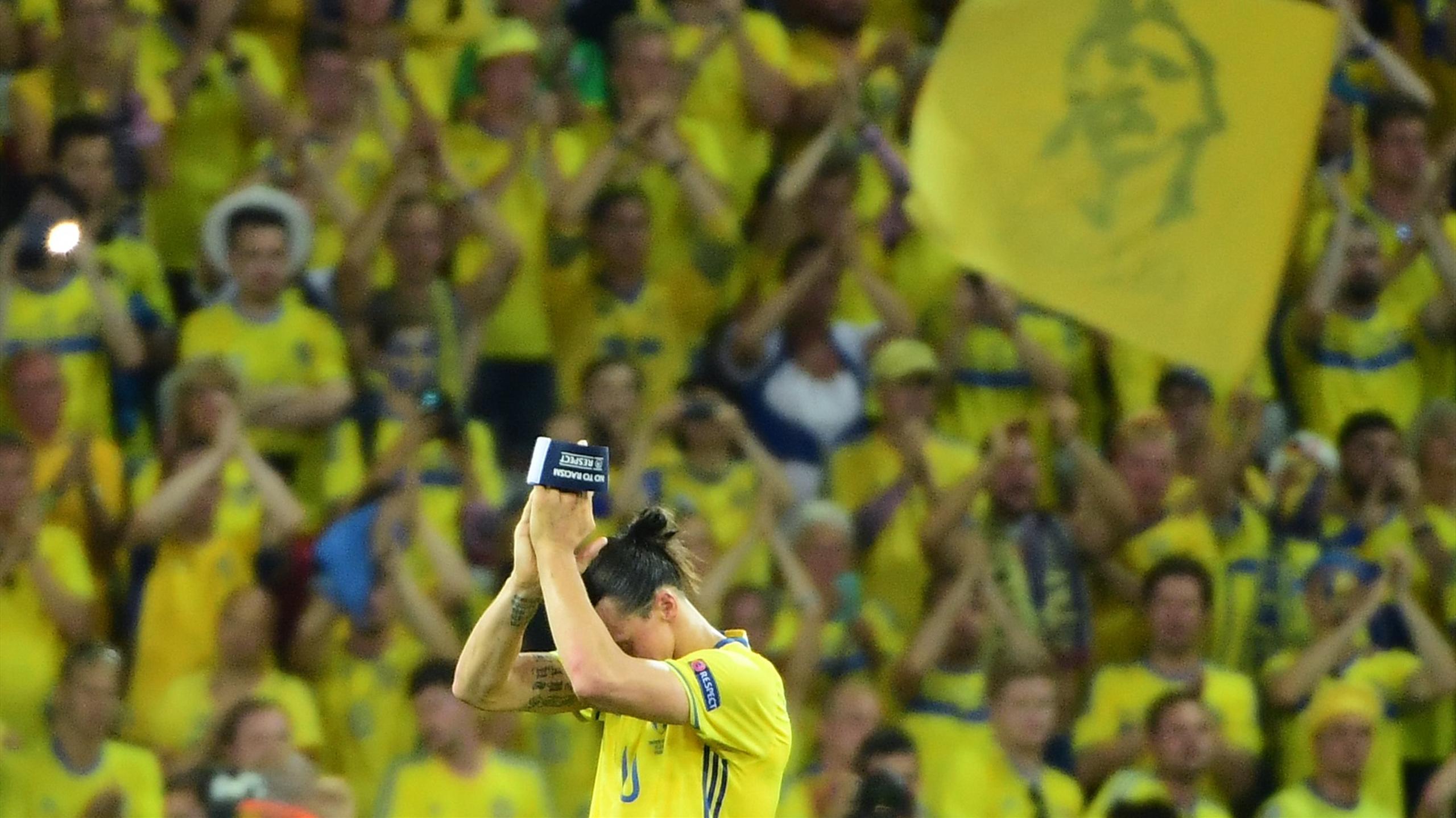 Zlatan Ibrahimovic fait ses adieux sous le maillot suédois