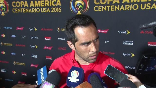 Claudio Bravo: Players and staff the only people who believed in Chile