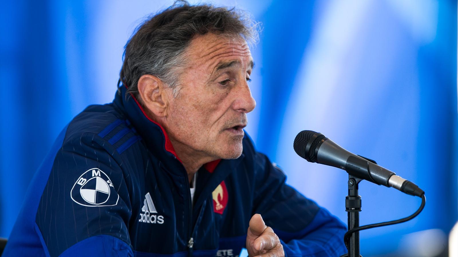 Guy Novès (XV de France) - 23 juin 2016