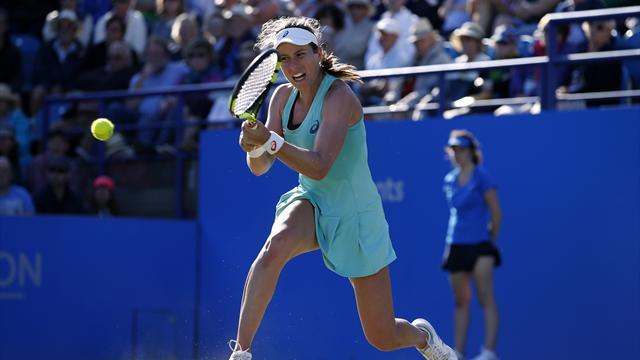 Konta falls to Pliskova in Eastbourne semi-final