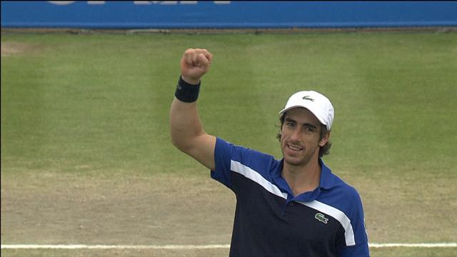 VIDEO: Johnson and Cuevas reach Nottingham final