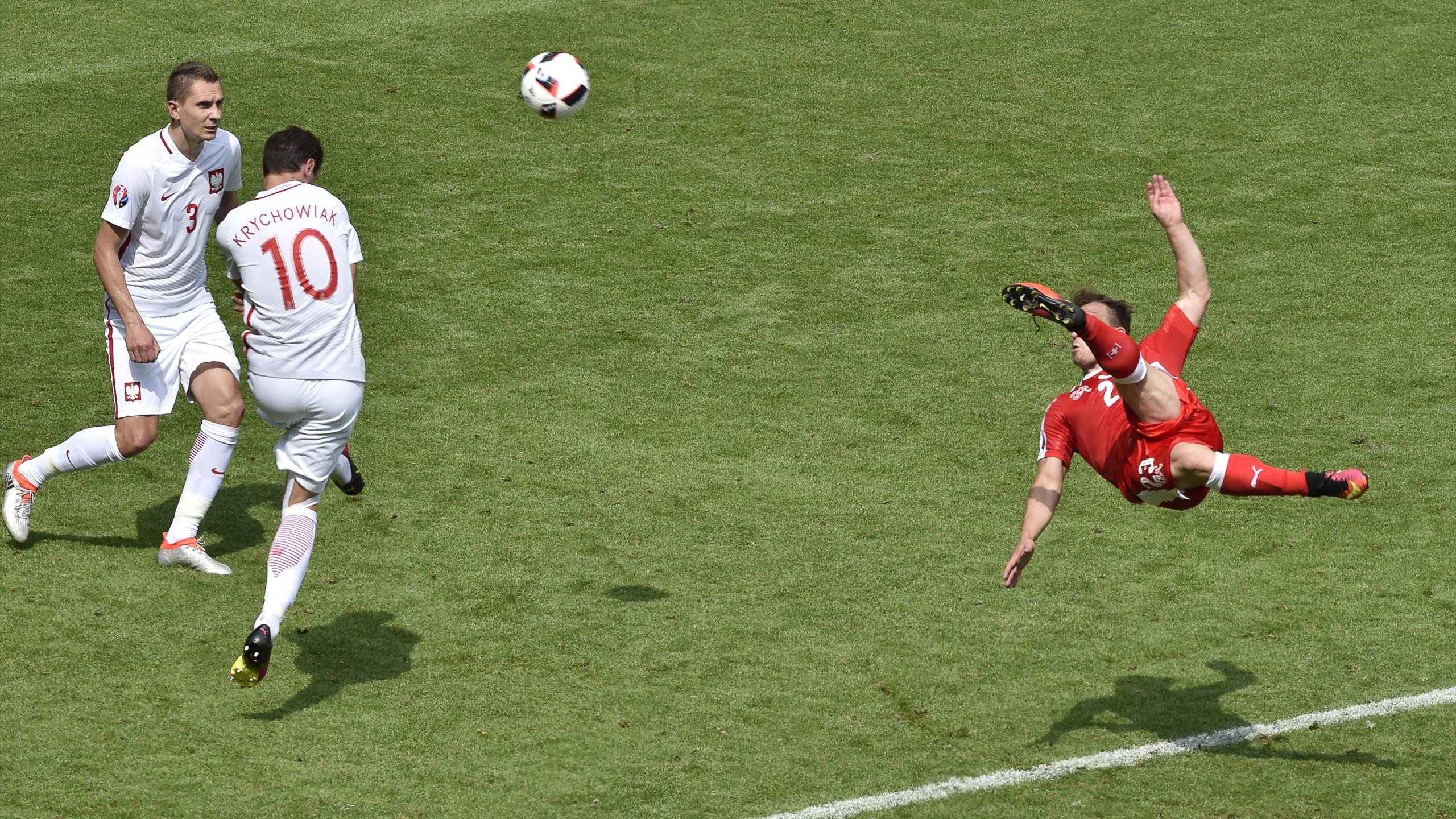 Xherdan Shaqiri - Poland v Switzerland - Euro 2016