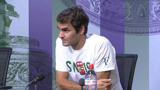 """Federer : """"Je sais que mon corps peut résister"""""""