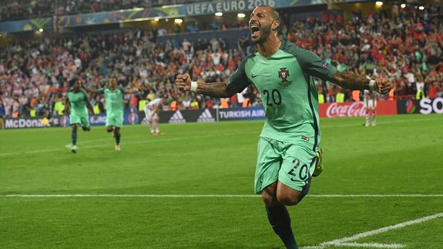 Au bout de l'ennui, Quaresma envoie le Portugal au paradis des quarts