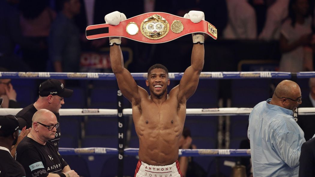 Britain's Joshua to defend heavyweight title against Molina
