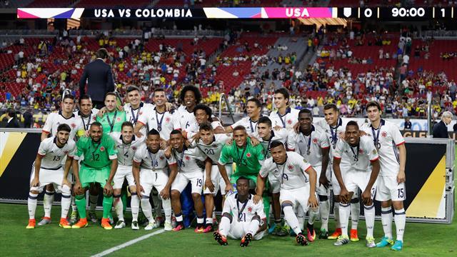 Trop forte pour les Etats-Unis, la Colombie se console avec le podium