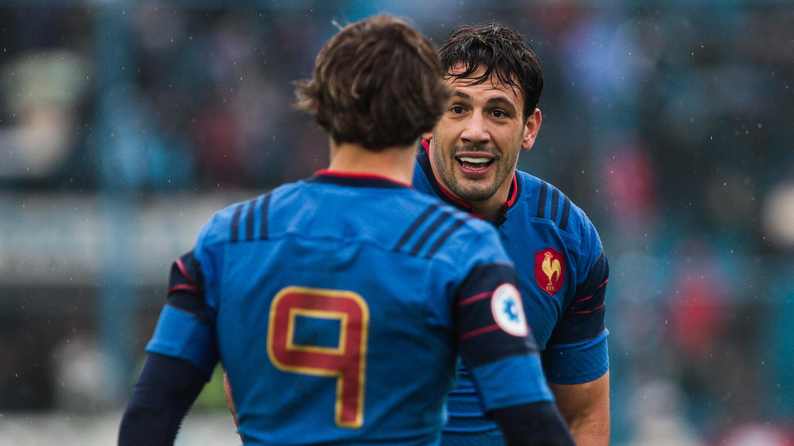 Rémi Lamerat et Baptiste Serin (XV de France) - 25 juin 2016