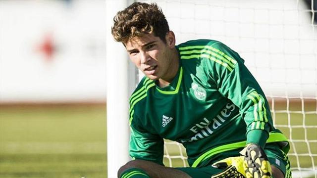 Luca Zidane retenu par son père en l'absence de Navas