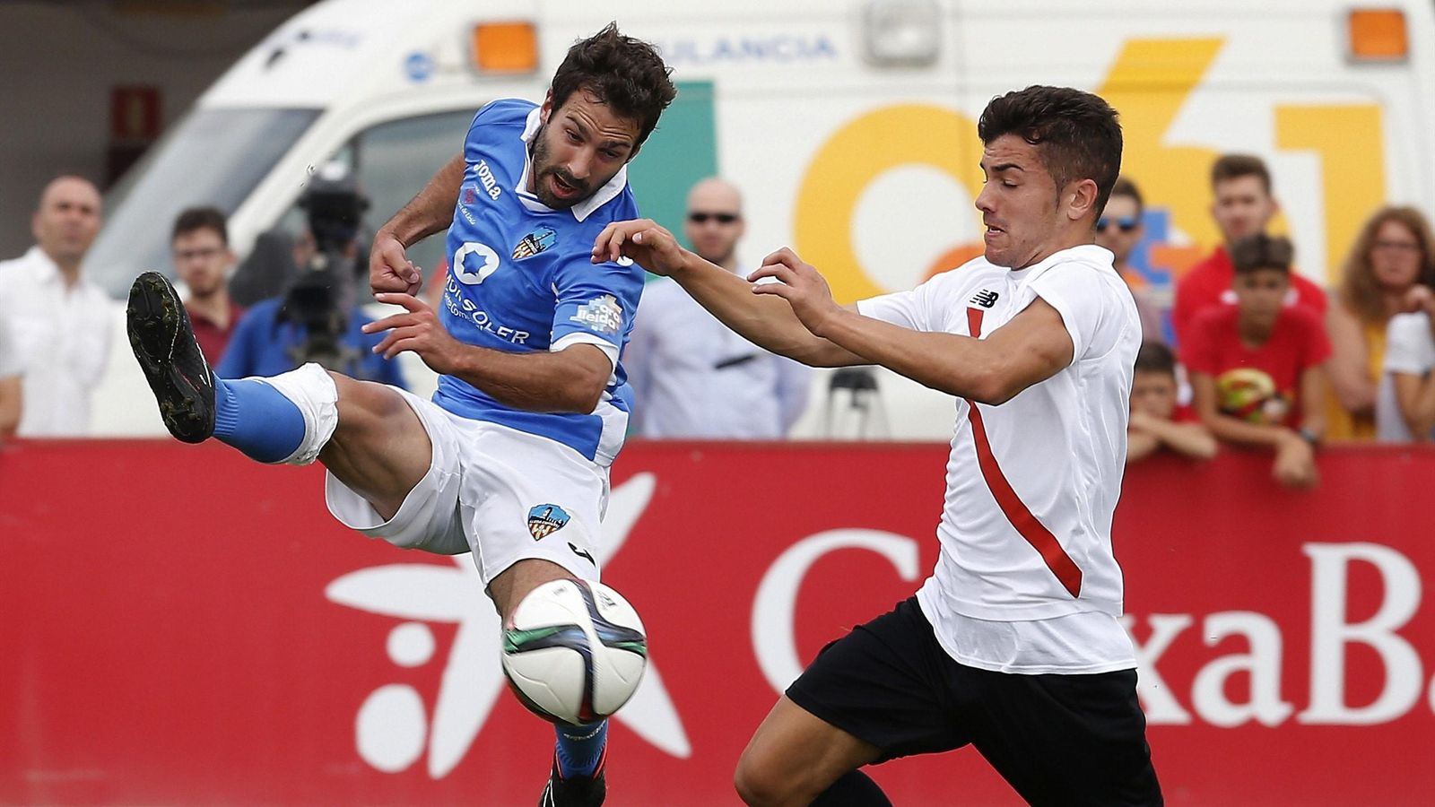 (0-1) El Sevilla Atlético sube ante el Lleida en los penaltis