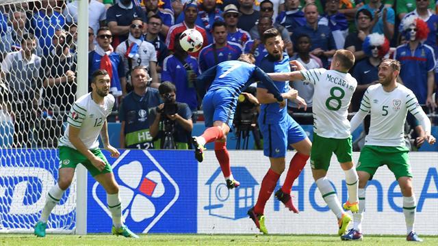 Le pagelle di Francia-Irlanda 2-1