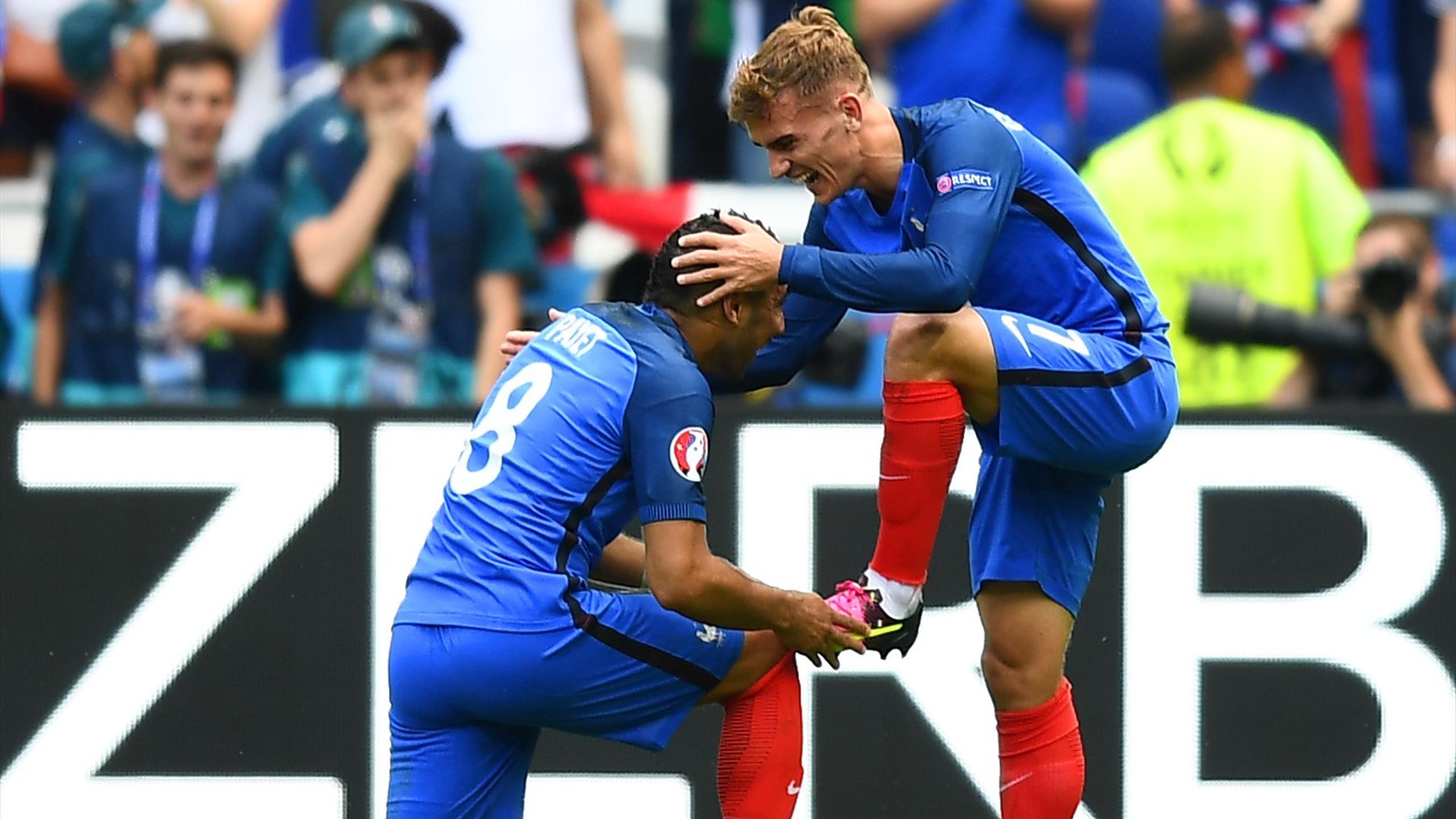 Griezmann Payet - France v Ireland - Euro 2016