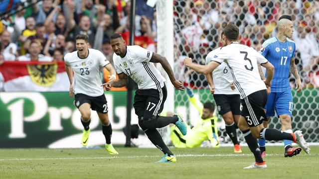 Germany v Slovakia: The key moments that decided the match
