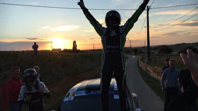 Loix encabeza el triplete belga en el podio de Ypres