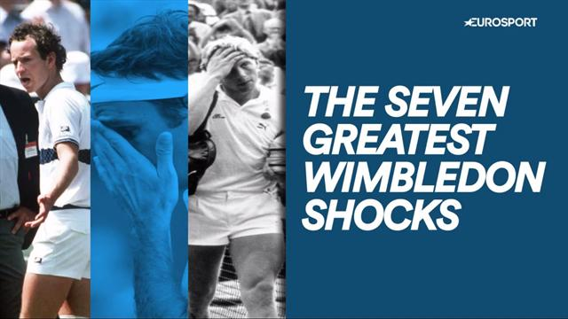 The 7 greatest Wimbledon shocks of all time
