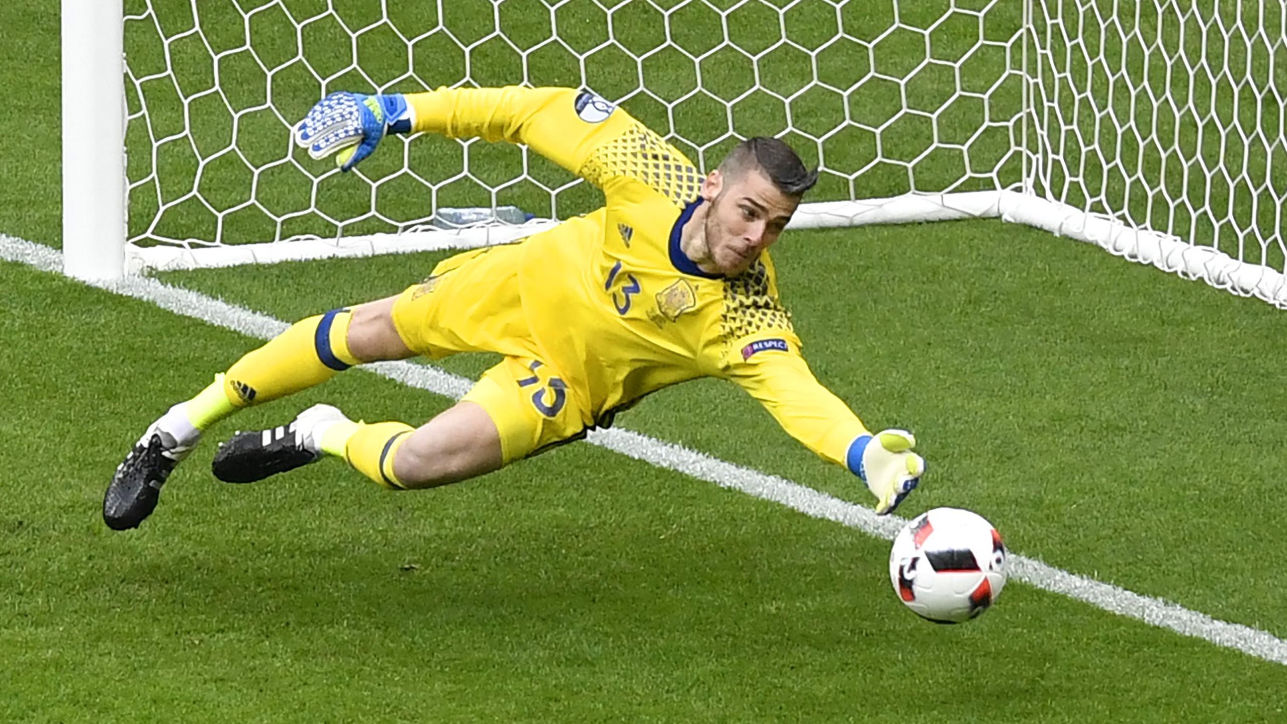 David De Gea - Italy v Spain - Euro 2016