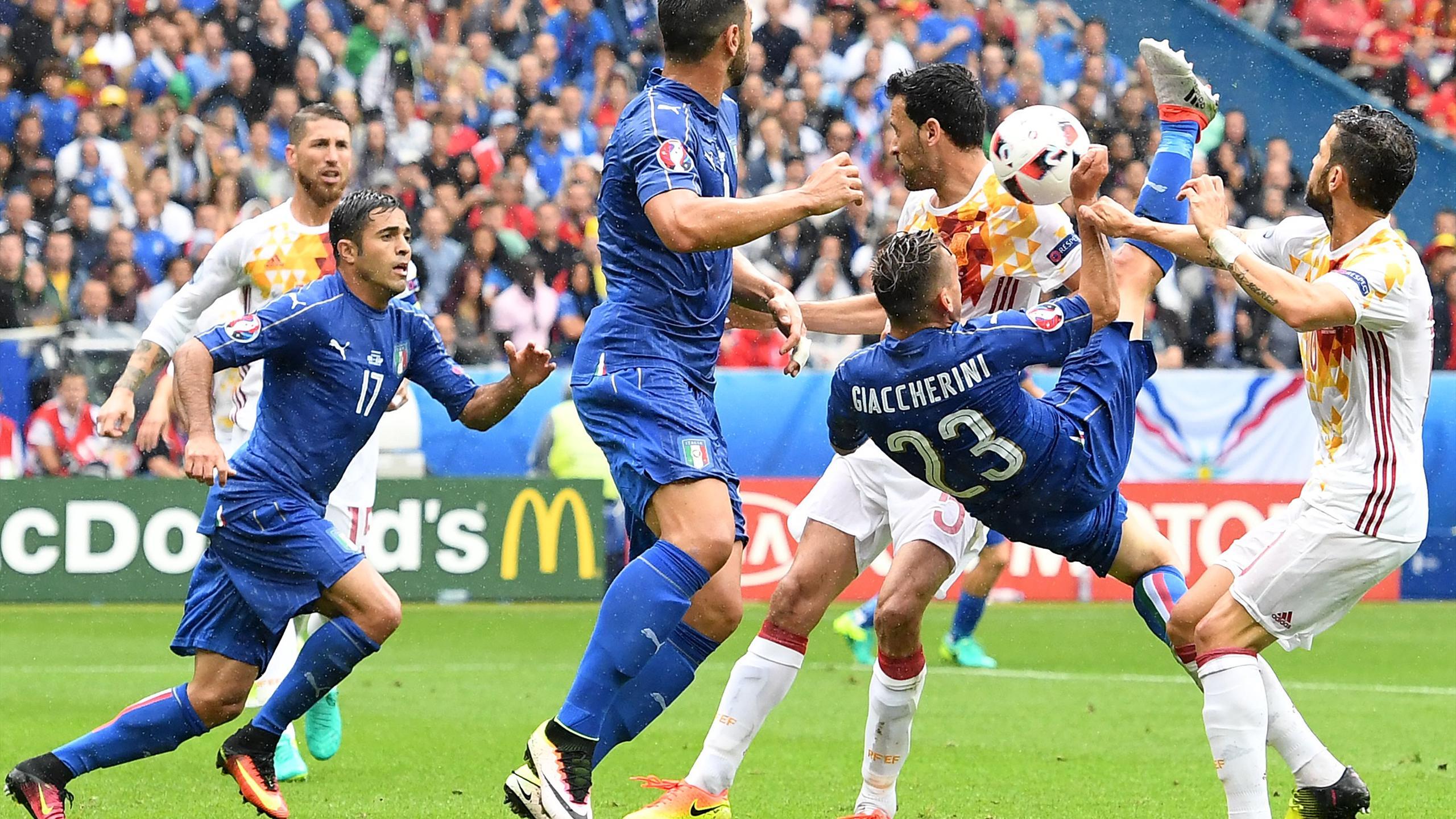 Emanuele Giaccherini - Italy v Spain - Euro 2016