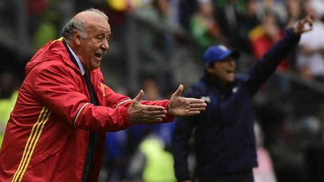 Del Bosque : «Je n'ai aucune intention de rester sélectionneur»