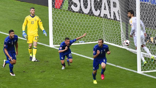 L'Italie donne une leçon et met fin au règne espagnol