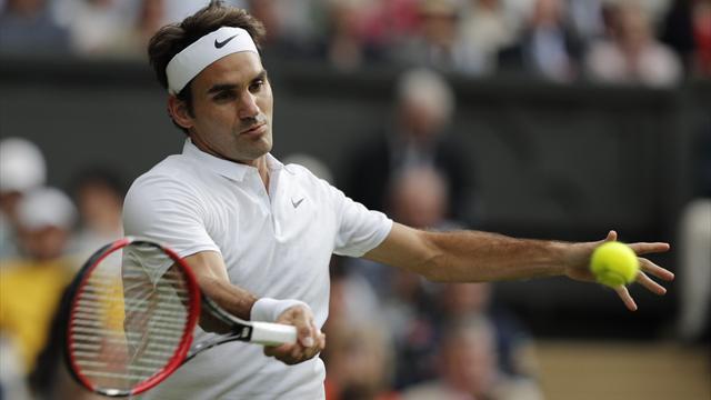 Federer, un break et ça repart