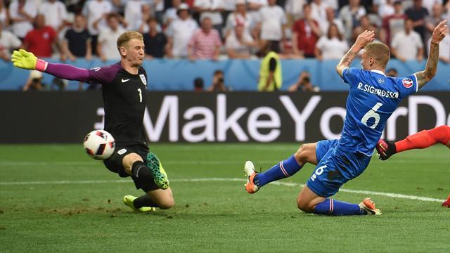 Сильные эмоции после выхода в ¼ финала Евро— Возвращение исландского комментатора