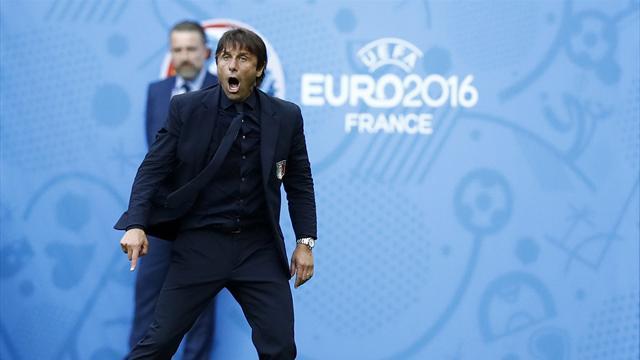 Entre son show et sa science tactique, Conte est la star de cet Euro