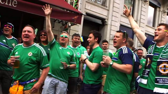Irlandais, Islandais ou Portugais : Le top 10 des chansons de fans à l'Euro