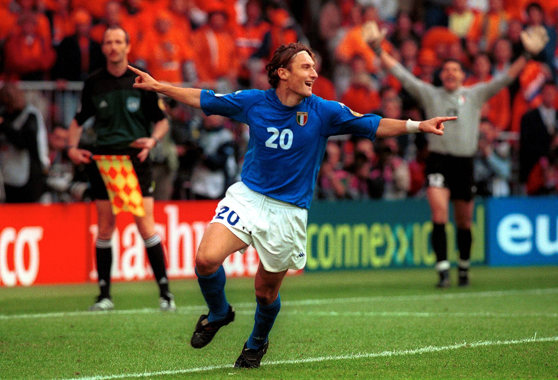 Франческо Тотти, Италия, Евро-2000