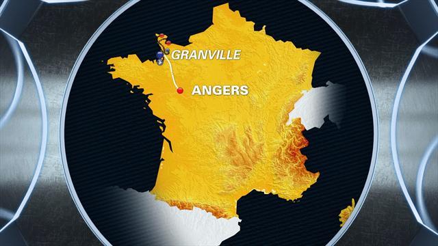 Tour de France: Stage 3 profile