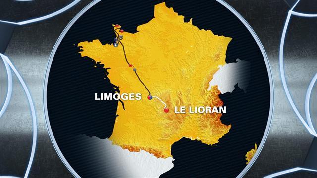 Tour de France: Stage 5 profile