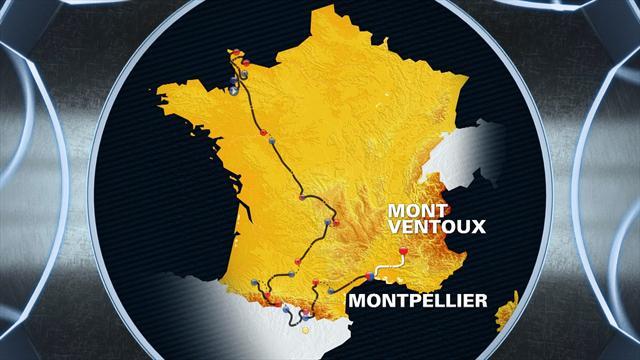 Tour de France: Stage 12 profile