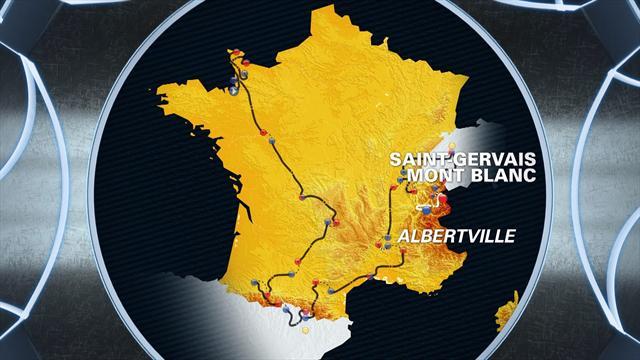 Tour de France: Stage 19 profile