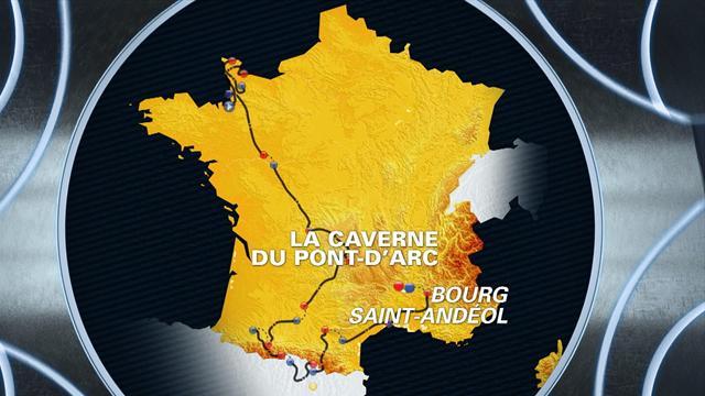 Tour de France: Stage 13 profile