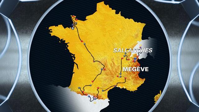 Tour de France: Stage 18 profile