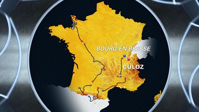 Tour de France: Stage 15 profile