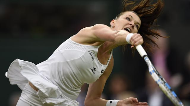 Radwanska keeps up her 100 pct Wimbledon first-round record