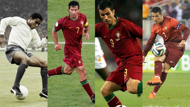 Eusebio, Figo, Pauleta, Ronaldo… Les 10 plus grands joueurs de l'histoire du Portugal