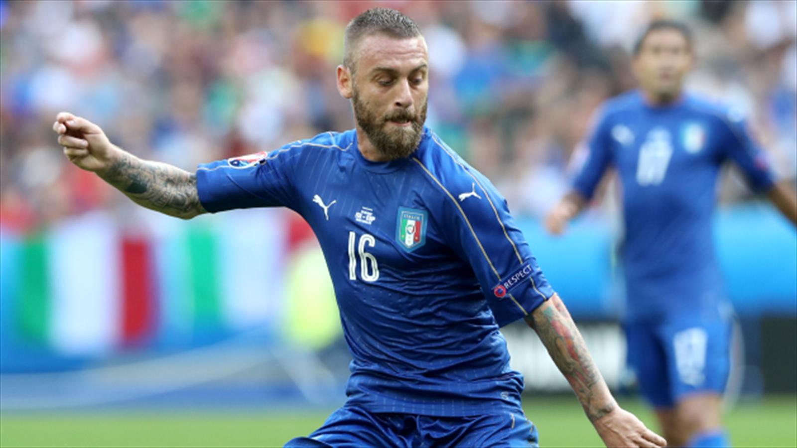 Daniele De Rossi A Doubt For Italy S Euro 2016 Quarter Final Against