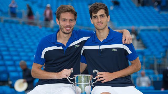 Herbert-Mahut face à Benneteau-Roger-Vasselin : Wimbledon aura une finale historique