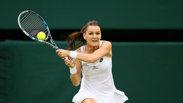Radwanska rend son tablier à son tour