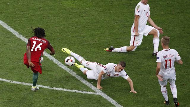 Jeudi, c'est Sanches qui a remis le Portugal dans le bon sens : son but